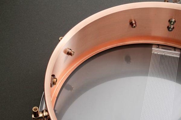 Piccolo Bronze Snare Drum Shell