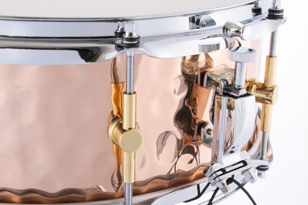 Hammered Bronze Snare Drum Strainer