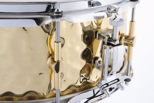 Hammered Brass Strainer
