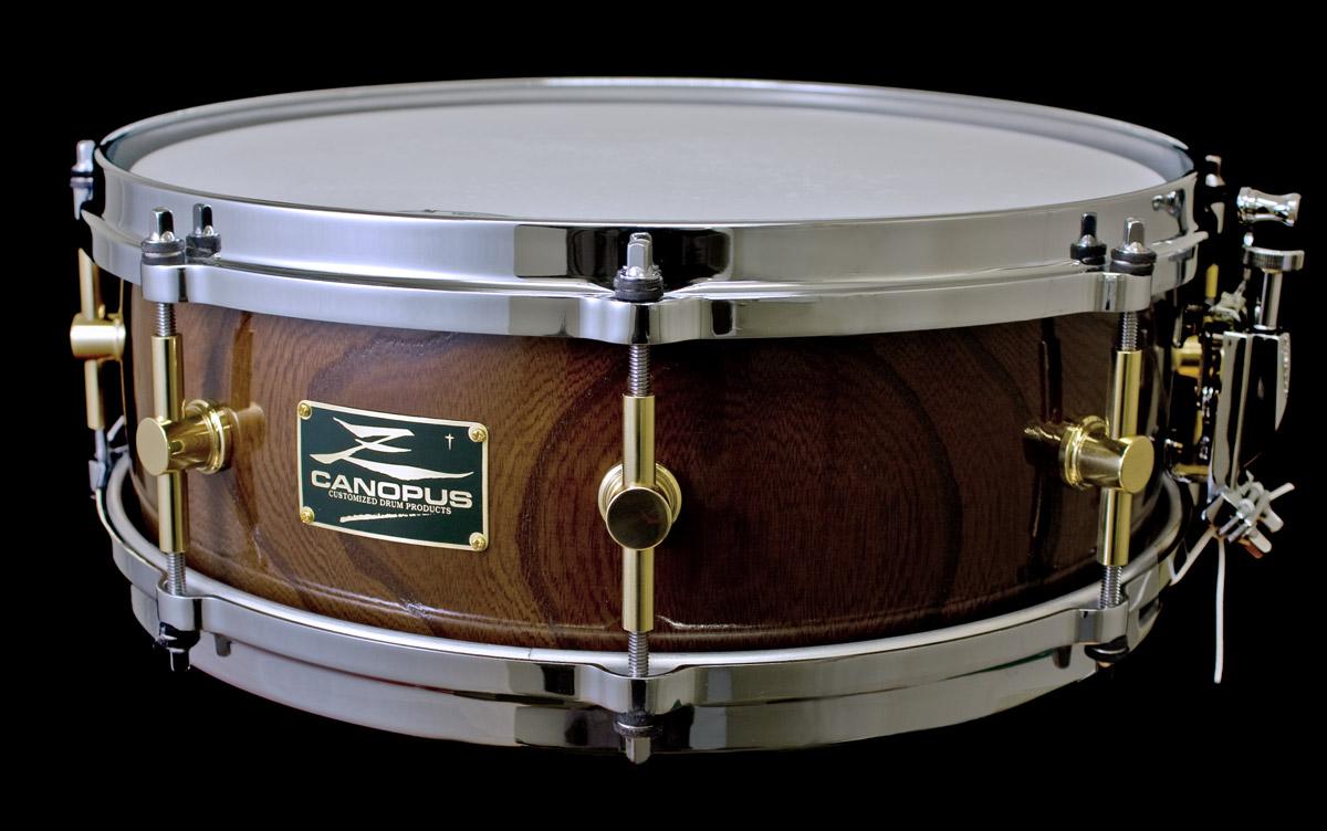 HS-1450 zelkova snare drum