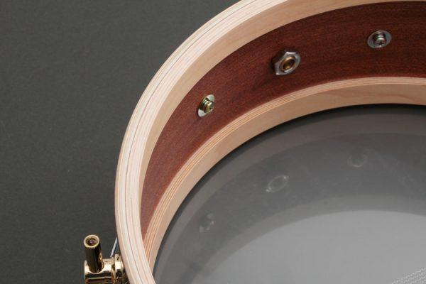 Mahogany Snare Drum Shell