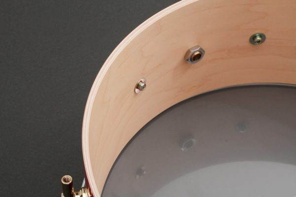 The Maple Snare Drum Shell