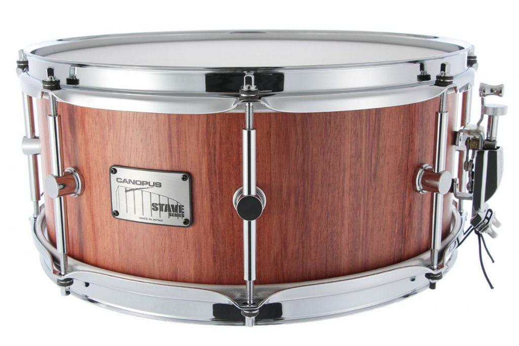 Stave Bubinga Snare Drum SBS-1460