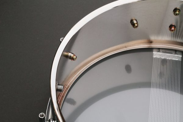The Steel Snare Drum Shell