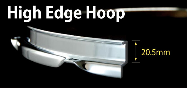 High Edge Hoop