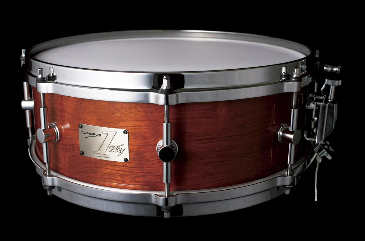 1ply Bubinga Snare Drum Canopus Drums