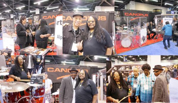 NAMM SHOW 2015 CANOPUSサイン会