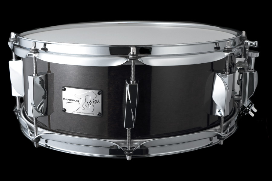 YAIBA II Maple Snare Drum JSM-1455 Ebony LQ