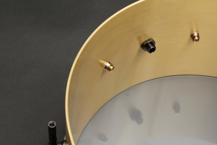 3mm Solid Brass Snare Drum Shell