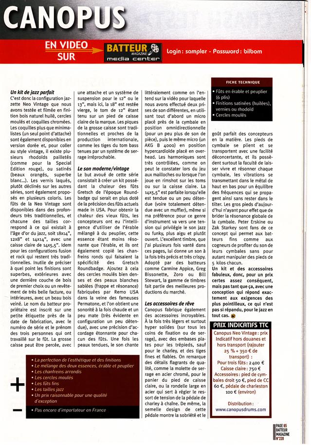 Batteur Magazine (France)