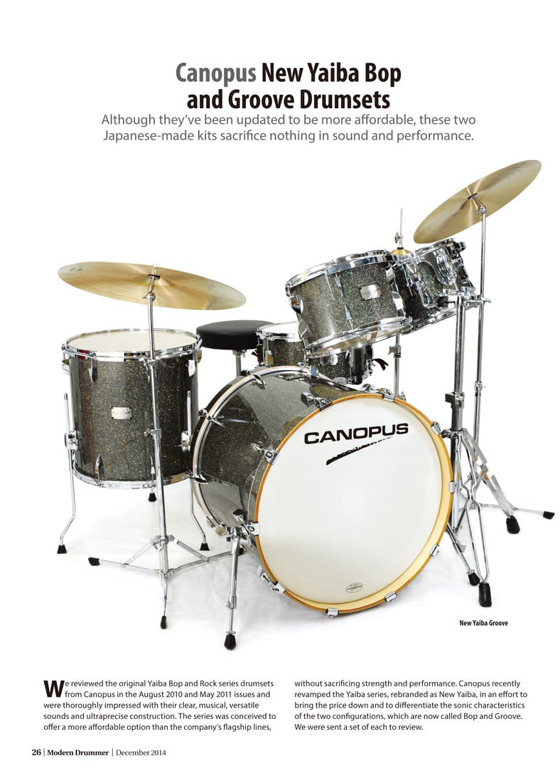 Modern Drummer Review