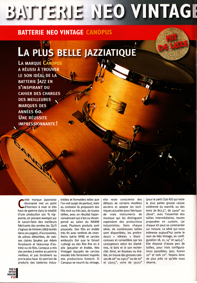 Batteur Magazine (France)