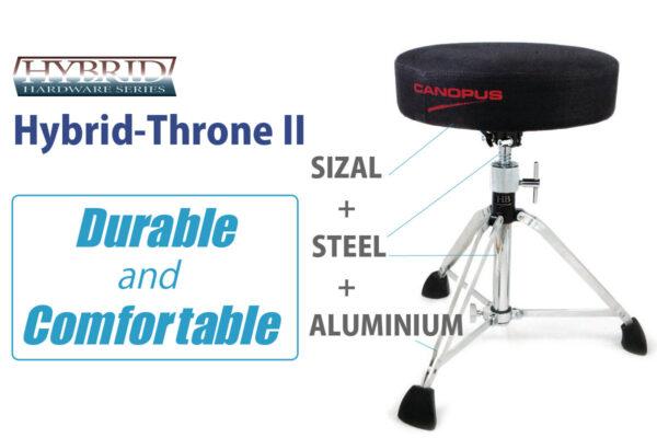 Hybrid Drum Throne II