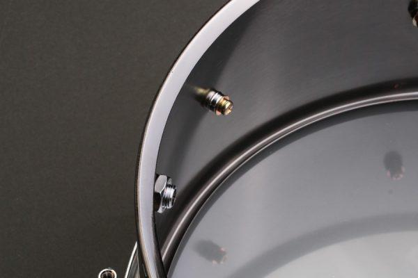 Black Nickel Brass Snare Drum Shell