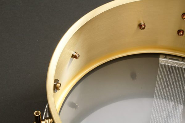 The Brass Snare Drum Shell