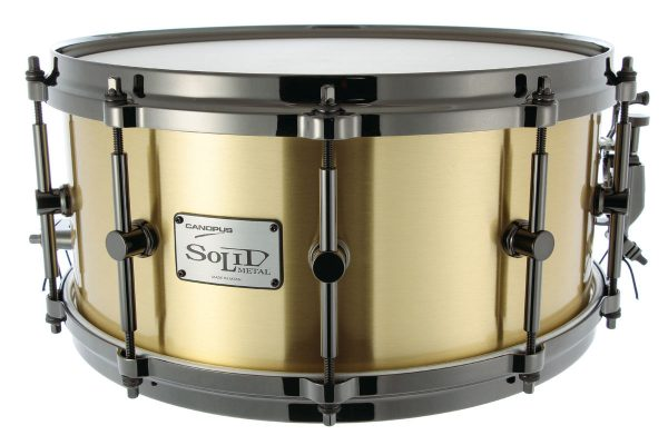 [Solid Metal] 3mm Brass Snare Drum SO3B-1465EX