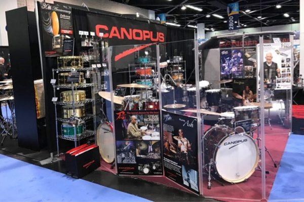 NAMM Show 2017 CANOPUS