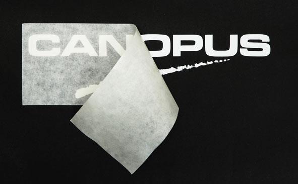 CANOPUSロゴステッカー