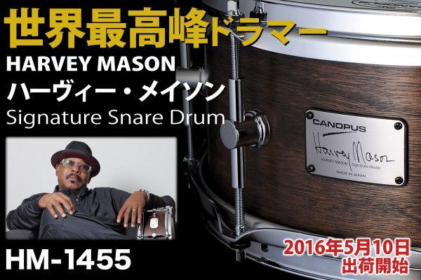 Harvey Mason Signature Snare Drum