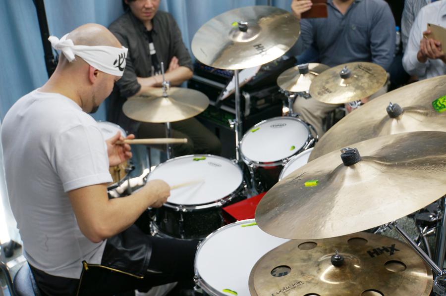 ジョタン・アファナドール(Jotan Afanador)ドラムクリニック