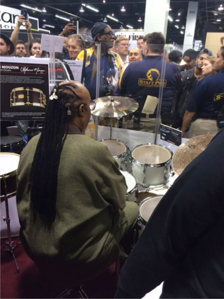 NAMM 2016 Stevie Wonder