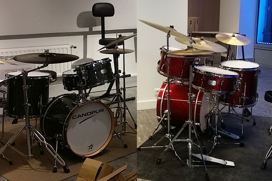 Yaiba Ii Drum Kit Canopus Drums