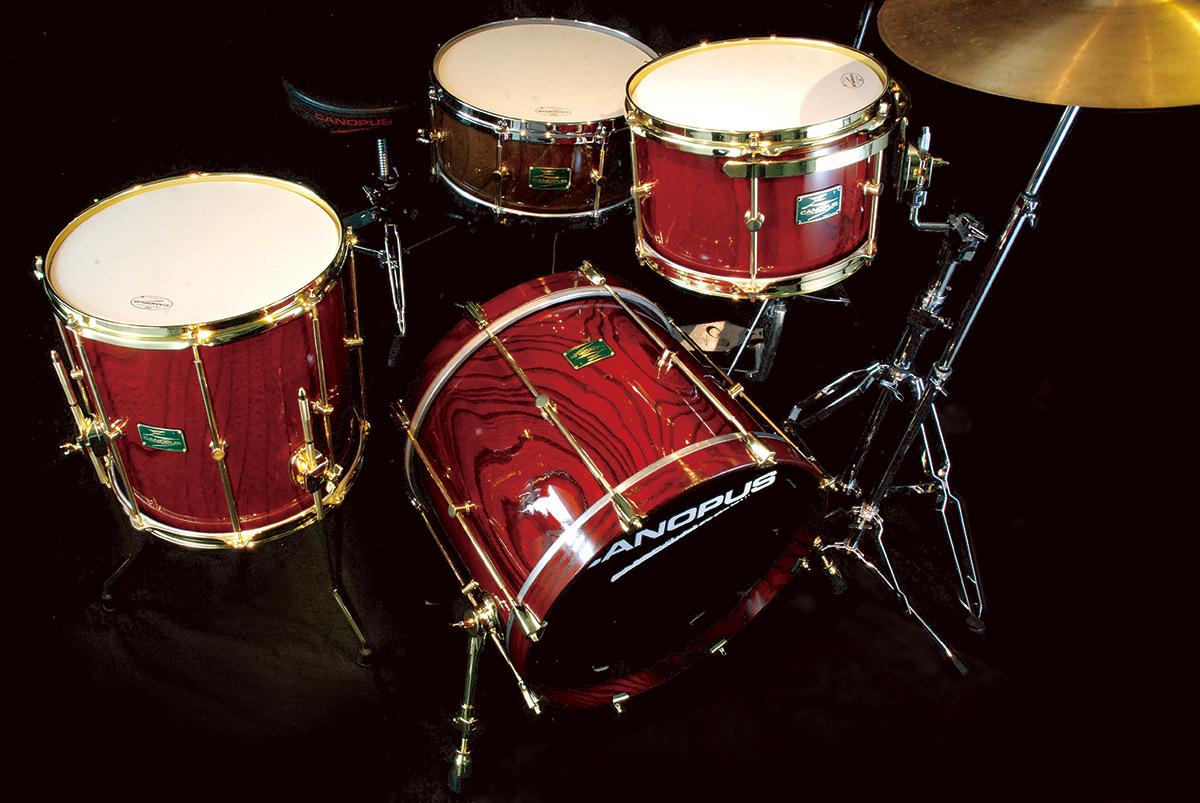 zelkova drum set canopus drums. Black Bedroom Furniture Sets. Home Design Ideas