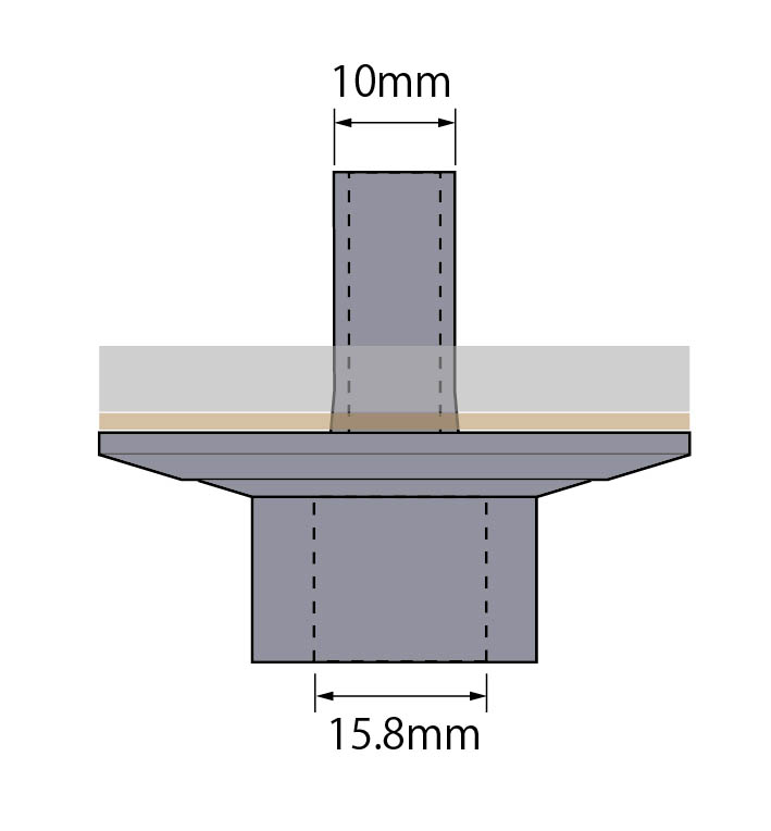 Hihat Stand Bottom Cup CHSP−BC10