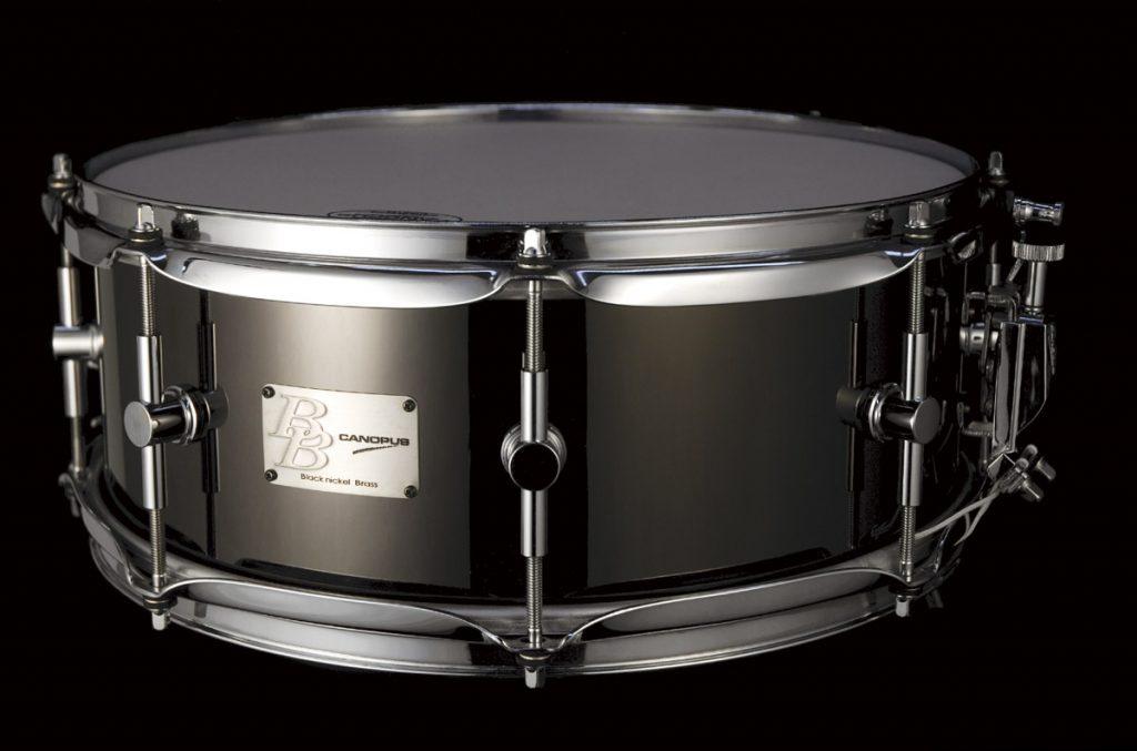Black Nickel Brass(ブラックニッケルブラス)スネアドラムBB-1455