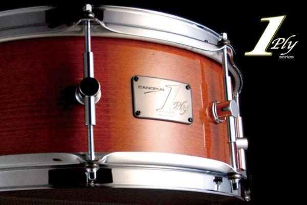 1ply Beech Snare Drum 1プライ ビーチ スネアドラム