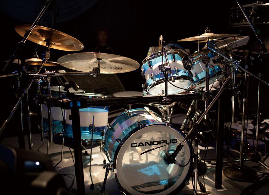 acrylic drum アクリル ドラム canopus drums カノウプス