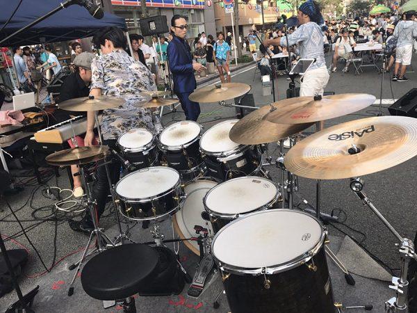 二神浩志 ドラムセット