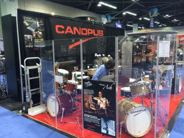 NAMM SHOW 2015 CANOPUSブース