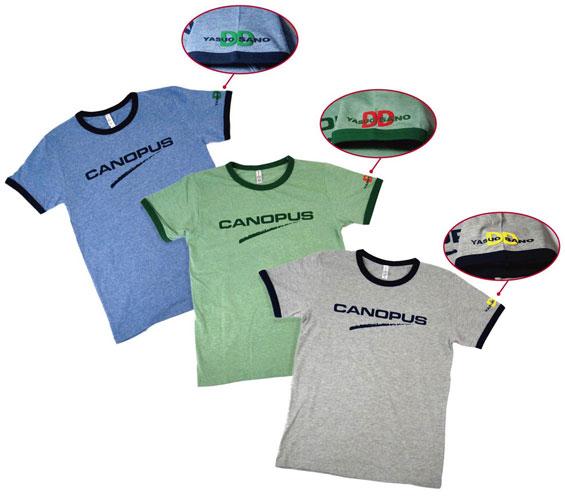 佐野康夫 × CANOPUS コラボレーションTシャツ新製品発売のお知らせ