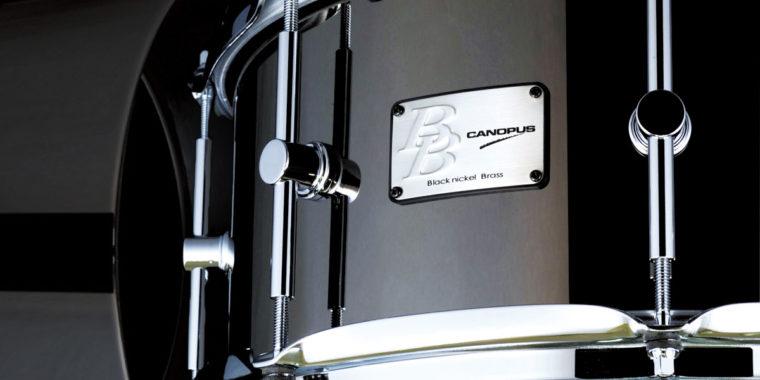 ブラックニッケルブラス BB-1465(14″x6.5″)スネアドラム新発売のお知らせ