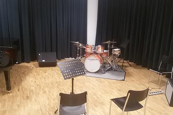 Bern University of Arts(スイス・ベルン芸術大学)にCANOPUSドラムセットが導入されました