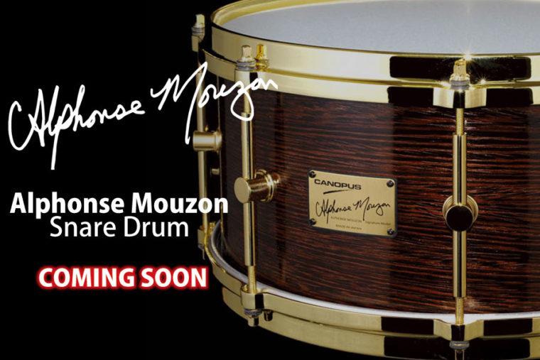 【Coming Soon】Alphonse Mouzon スネアドラム AM-1465