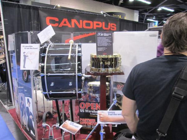 NAMM 2016 CANOPUSブース