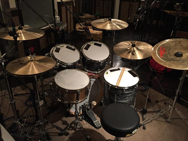 今村公治 山猿「あいことば3」ドラム
