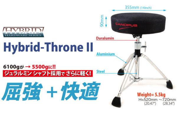 CDT2-1HY ハイブリッド・ドラム・スローン