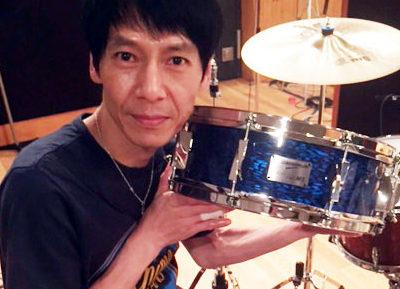 佐野康夫さんの新たなメイン、NV60-M5スネア・ドラム!