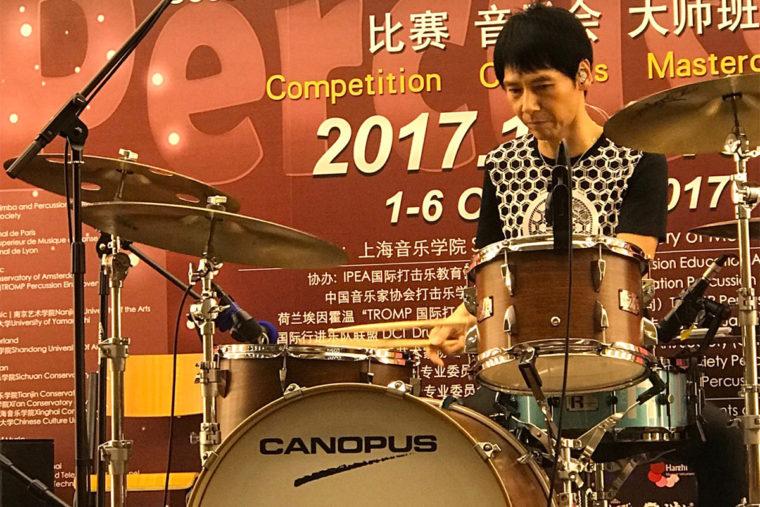上海にて佐野康夫氏がマスタークラスを行いました