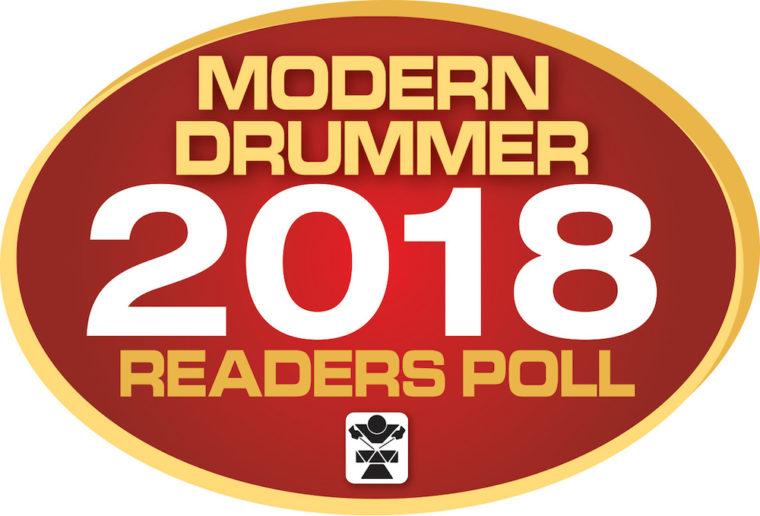 「Modern Drummer」誌の「Readers Poll 2018」にエンドーサーJonathan Barberがノミネート