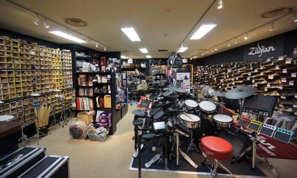 池部楽器店ドラムステーション渋谷