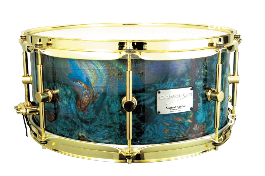 Stabilized Wood Snare Drum